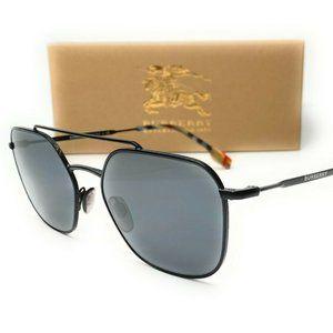 Burberry Matte Square 56mm Sunglasses